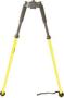 GPS thumb release bipod (yellow)